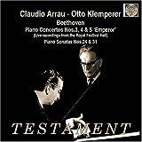 Beethoven: Piano Concertos Nos. 3, 4 & 5 (Live 1957); Piano Sonatas Nos. 24 & 31 [Mono]