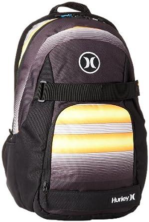 Hurley Men's Honor Roll Backpack, BP Warp Orange, One Size