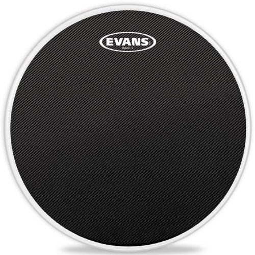 Evans Hybrid-S Black Marching Snare Drum Head, 14