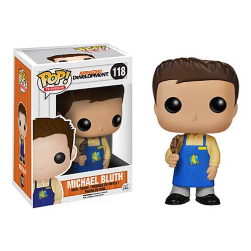 Funko POP Television: Arrested Development Michael Bluth Banana Stand Vinyl Bobble Head
