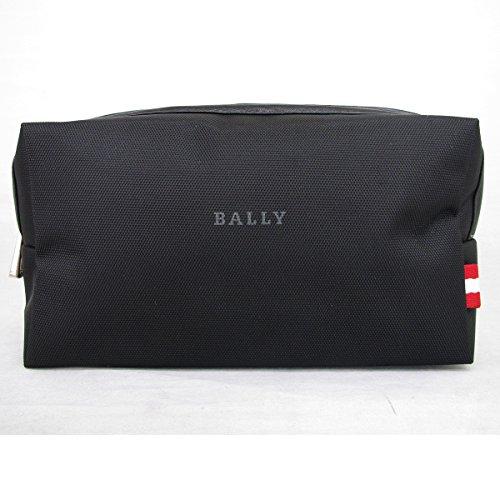 BALLY バリー ポーチ 小物入れ セカンドバッグ ブラック ロゴ 並行輸入品 AMI768