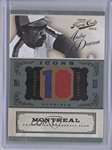 Andre Dawson 25 #3 25 Montreal Expos (Baseball Card) 2012 Prime Cuts Icons Jersey...