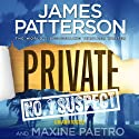Private: No.1 Suspect Audiobook by James Patterson, Maxine Paetro Narrated by Scott Shepherd