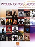 Women Of Pop And Rock: Easy Piano - 22 Hot Hits. Partitions pour Piano Facile
