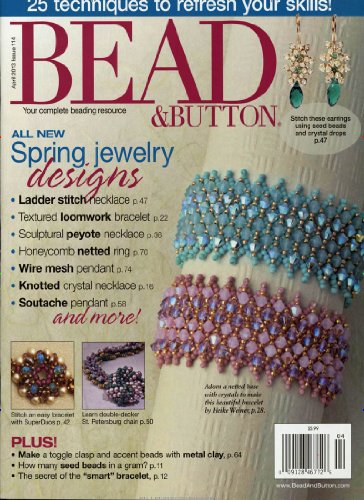 BEAD + BUTTON MAGAZIN / USA [Jahresabo]