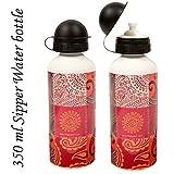 Sipper Water Bottle 350ml Ambi Print