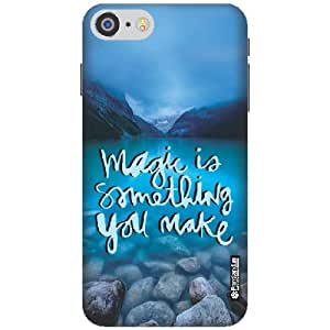 Printland Designer Back Cover for iPhone 7 - Something Cases Cover