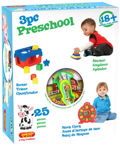 Amloid 3 Style Preschool Assorted Toy Set