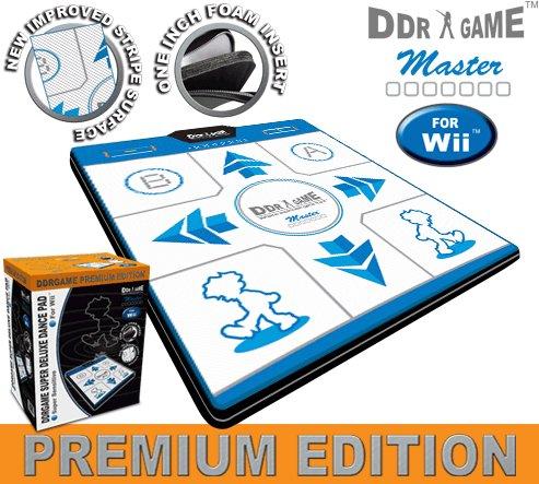 Wii Dance Pad Premium Edition Deluxe Non-Slip