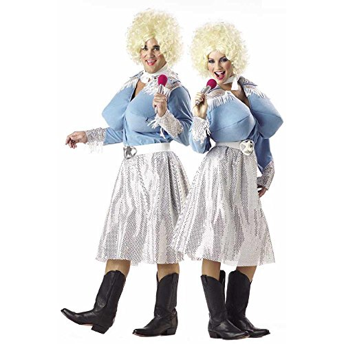 Adult Funny Dolly Parton Style Halloween Costume (Size: Standard 44)