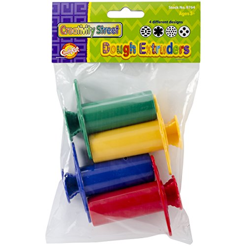Creativity Street Dough Extruders (4 Pack) - 1