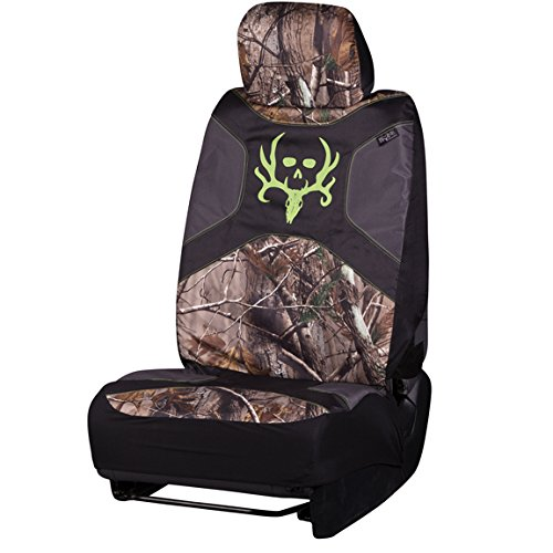 Bone Collector Low-Back Camo Bucket Seat Cover (Realtree AP Camo, Durable Polyester Fabric, Includes Headrest Cover, Sold Individually) (Brown Girl Seat Covers compare prices)