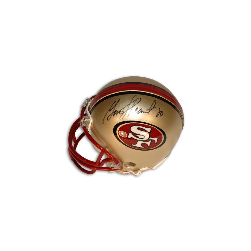 Garrison Hearst Autographed San Francisco 49ers Mini Helmet