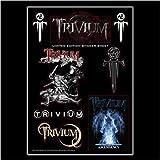 Merchandise - Trivium - Aufkleber Set Logo (in OneSize) von Trivium