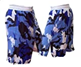 Mixed Martial Arts Blue Camouflage Tribal Fight Shorts Size 38