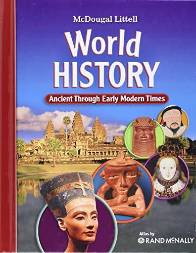 World History: Ancient Through Early Modern Times (Ancient World History Textbook compare prices)