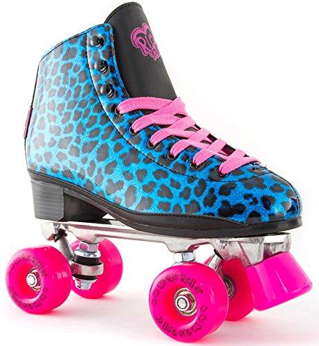 rio roller chic rollschuhe f r erwachsene quad skates blau. Black Bedroom Furniture Sets. Home Design Ideas
