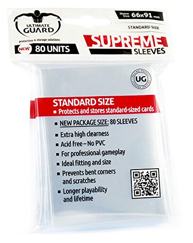Supreme Clear Sleeves (80)