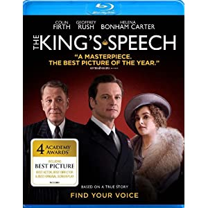 The King's Speech Blu-ray
