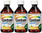 PACK OF 3 EACH CENTRUM LIQUID MULTI-VITAMIN 8OZ PT#5434362
