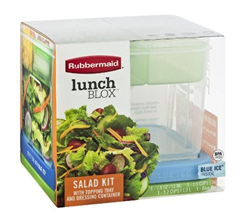 Rubbermaid Lunch Blox Salad Kit (Pack of 2) - 1