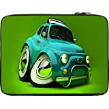 Snoogg Deformed Fiat 2621 12 To 12.6 Inch Laptop Netbook Notebook Slipcase Sleeve