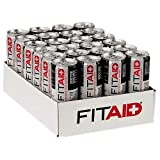 LifeAID Beverage, Fit Aid, 12 Ounce (Pack of 24)