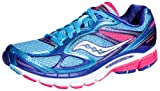 Saucony Womens Guide 7 Running Shoe,Blue,8.5 M US