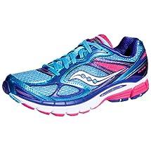 Saucony Women's Guide 7 Running Shoe,Blue,8 M US