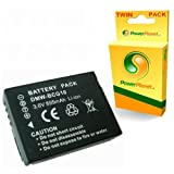 Twin Pack - PowerPlanet DMW-BCG10, DMW-BCG10E Panasonic ID Secure Compatible Camera 2 Year Warranty Battery for PANASONIC Lumix DMC-ZS5, DMC-ZS6, DMC-ZS7, DMC-ZS8, DMC-ZS9, DMC-ZS10, DMC-ZS15, DMC-ZS20, DMC-ZX1, DMC-ZX3 (All Firmware versions)