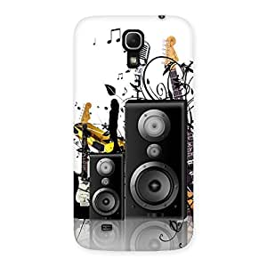 Delighted Music Comp Multicolor Back Case Cover for Galaxy Mega 6.3