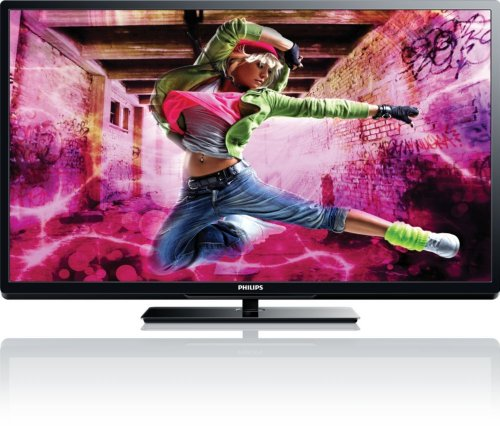 Philips 50PFL5907 50-Inch 1080p 240Hz Smart LED HDTV (Black)