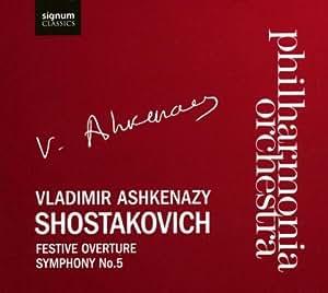 Shostakovich: Symphony No.5; Festive Overture (Philharmonia Orchestra / Ashkenazy)