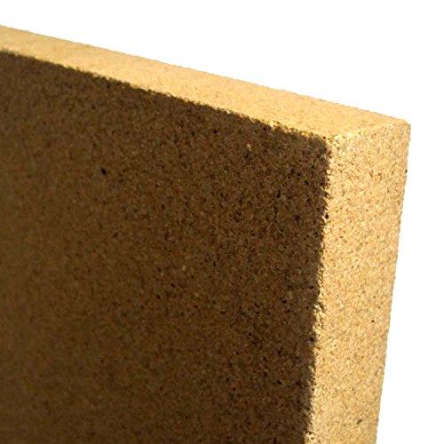 V1-30-2x-Vermiculite-Platte-Schamotte-Ersatz-fr-Kaminfen-Strke-30-mm-Mae-400-x-300-mm-2-Stck