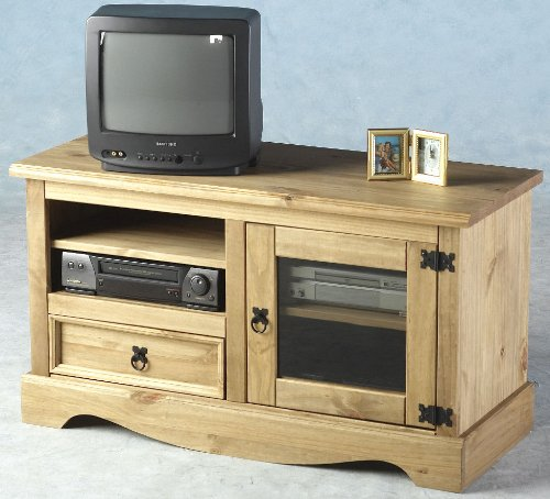 Corona Entertainment TV Video DVD Cabinet Stand Unit - NEXT DAY DELIVERY