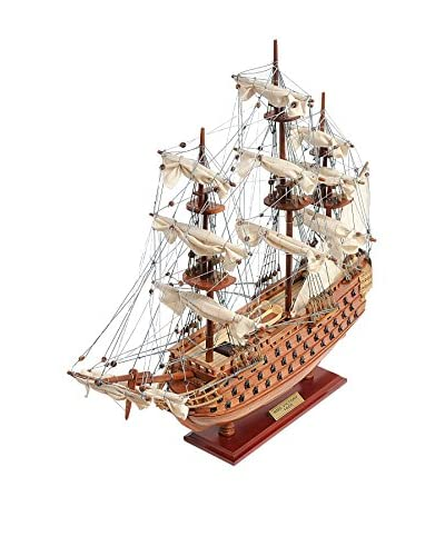Old Modern Handicrafts, Inc. HMS Victory Ship Model, Wood