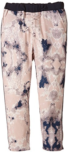 NAME IT Mädchen Hose Gesmilla Kids Bag Pant Lmtd 215, All over print, Gr. 164, Mehrfarbig (Rose Smoke)