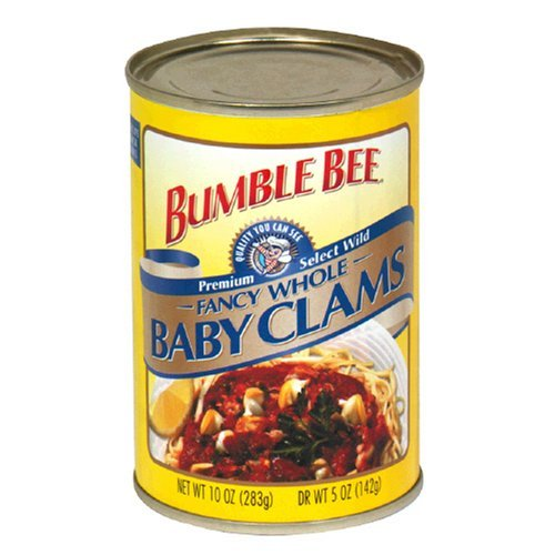 Bumble Bee Fancy whole baby clams | KetoDB