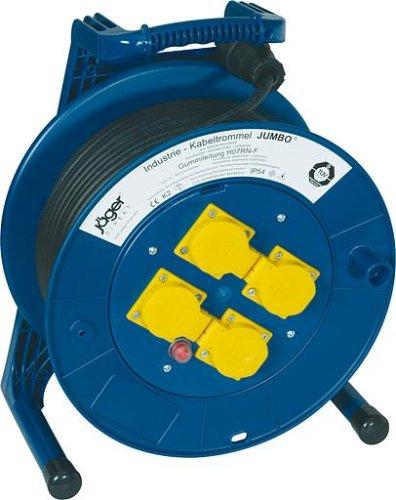 Kabeltrommel-4Steckdosen-mThermoschutz-Herstellerbestellnummer-4000873466