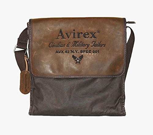 Borsello Avirex | D-Day | AVXDDYF01AI1516-Dark Brown