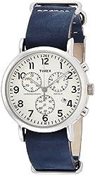 Timex WeekenderTM Chronograph TW2P62100 Mens Chronograph Indiglo Illumination