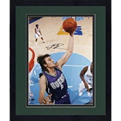 Framed Milwaukee Bucks Andrew Bogut Autographed 16