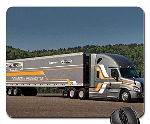 2012 Freightliner Cascadia Evolution Semi Tractor Mouse Pad, Mousepad (Freightliner Evolution compare prices)