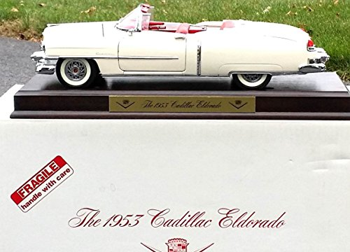 DANBURY MINT 1953 CADILLAC ELDORADO Car in Extra LARGE 1:16 Scale Diecast Metal - MINT in BOX with Display Base as Shown