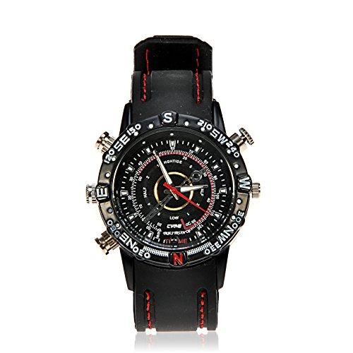 Airplus® Waterproof 8Gb Hd 720*480 Water-Resistant Watch Camera Digital Video Recorder Dvr Spy Camcorder