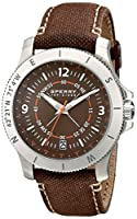 Sperry Top-Sider Men's 10018705 Explorer Analog Display Japanese Quartz Brown Watch from Sperry Top-Sider Watches MFG Code