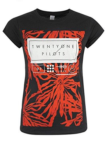 T-shirt Twenty One Pilots Ride Board da donna in nero