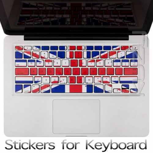 Buy  Kuzy - Stickers UK Great British Flag Keyboard Skin for MacBook Pro 13