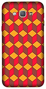 Timpax Light Weight Hard Back Case Cover Printed Design : A multicolour designers pattern.Exclusively Design For : Samsung Galaxy A8