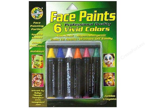 Crafty Dab Face Paints - Vivid Colors